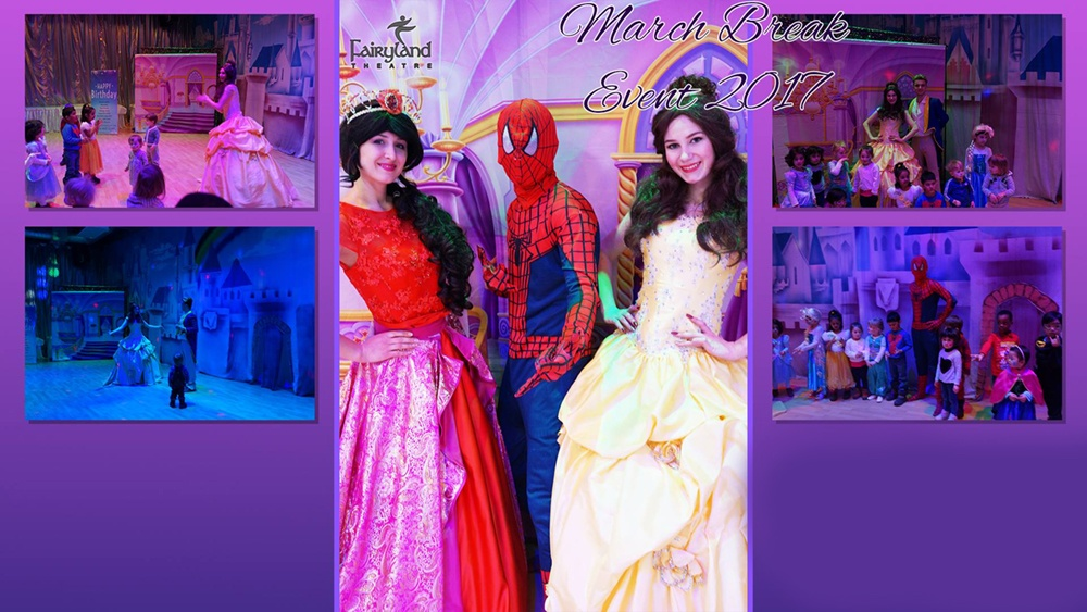 Princess and Superhero event