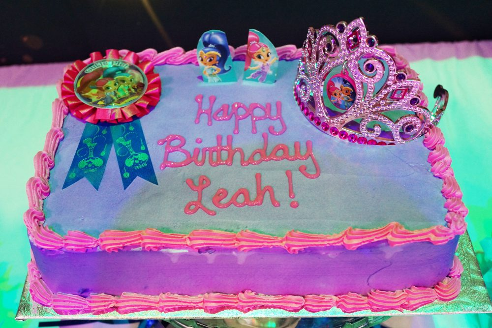 Party Decorations Toronto Shimmer And Shine Cake