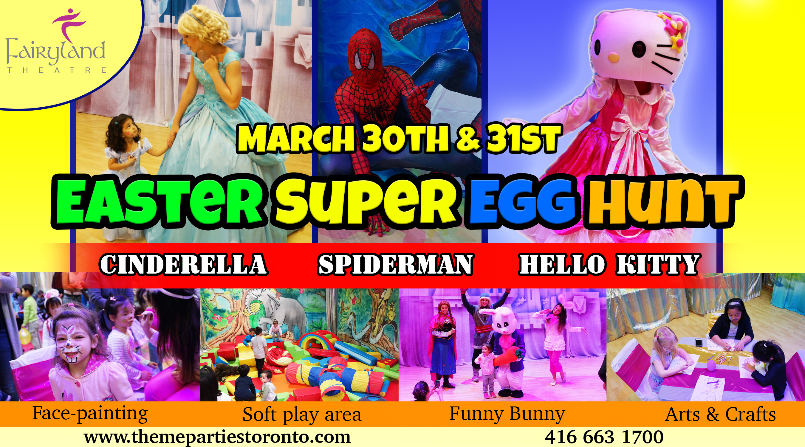 Kids Easter Event Toronto 2018