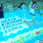 Jasmine Themed Birthday Cake