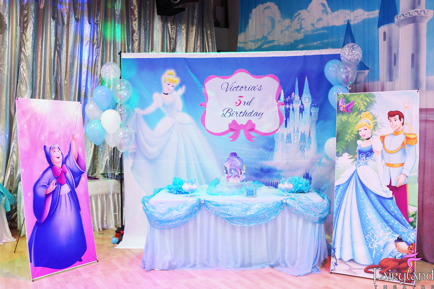Lil Mermaid Princess Party Welcome To Fairyland