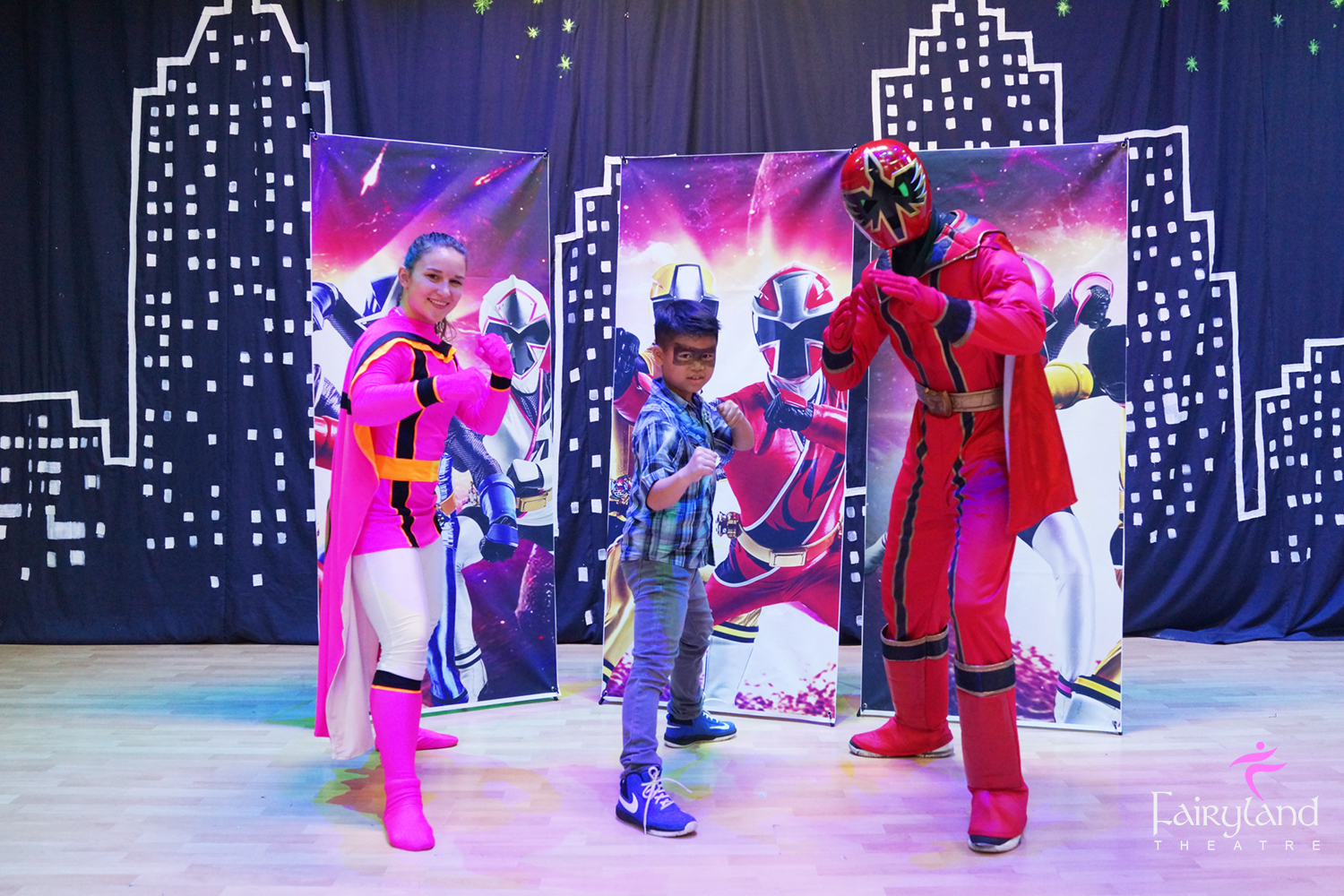 Power Rangers Party Welcome To Fairyland Theatre