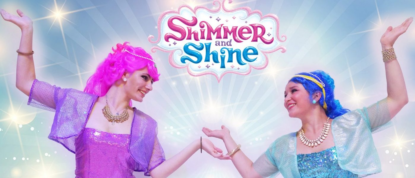 Shimmer and shine party entertainers toronto