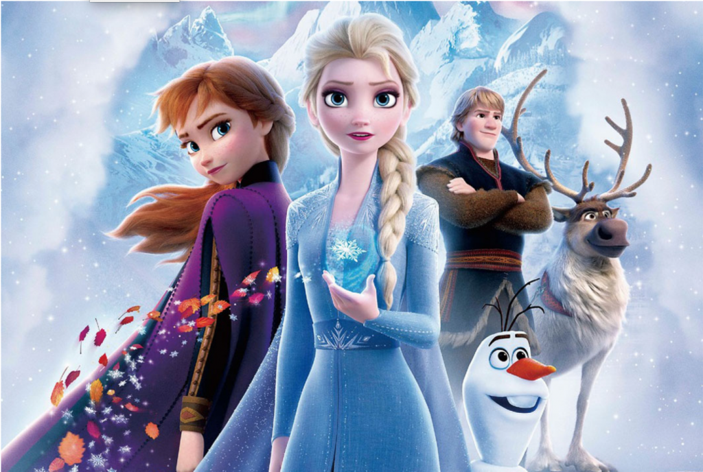 Frozen 2 themed party