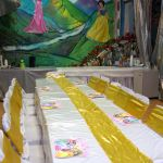 princess belle table decorations